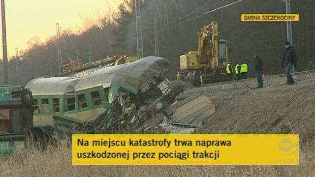 Trwa naprawa trakcji (TVN24)