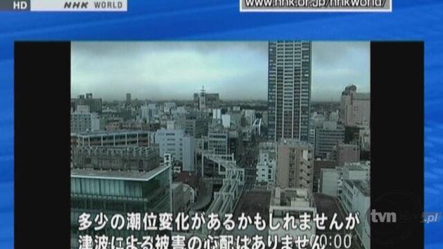 Silne trzęsienie ziemi o sile 6 stopni w skali Richtera nawiedziło dziś wschodnią Japonię (Reuters)