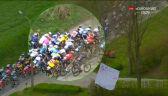 Spora kraksa w peletonie w Wyścigu dookoła Flandrii