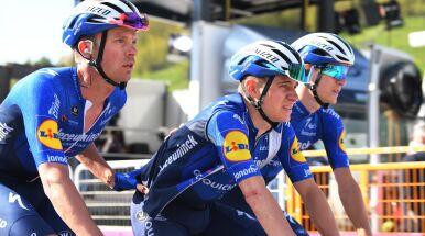 Znowu wypadek. Evenepoel nie jedzie już w Giro d'Italia
