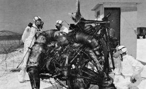 Eksplozja rakiety Thor na stanowisku startowym