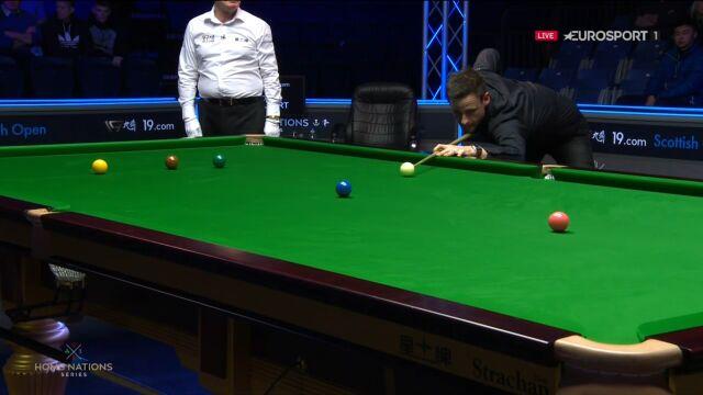Gilbert lepszy od Trumpa w ćwierćfinale Scottish Open