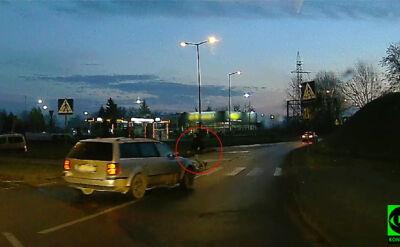 Niebezpieczna sytuacja na przejściu dla pieszych w Gorzowie Wielkopolskim