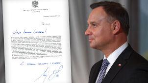 President Duda sends Nobel laureate Olga Tokarczuk congratulatory letter