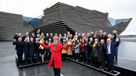 """""""Szkocja chce innej przyszłości. Szkocja chce mieć prawo do decydowania"""""""