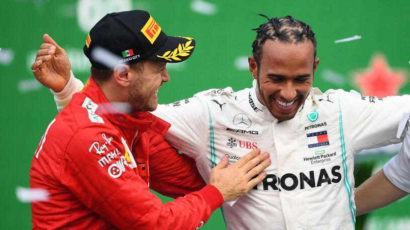 Hamilton rozmawiał z przedstawicielem Ferrari