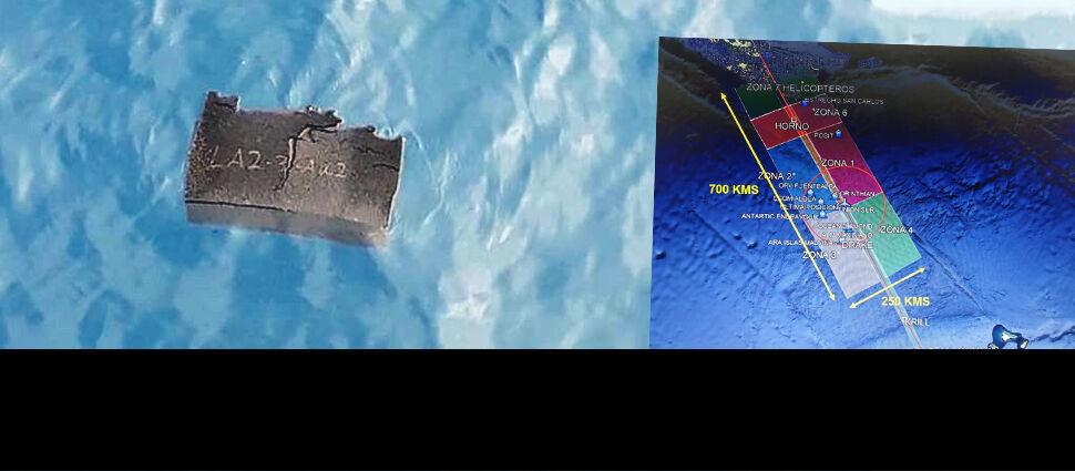 Szczątki w oceanie. Okręty, statki,  samoloty i satelity w akcji