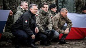 Morawiecki i Orban na wspólnym nagraniu.