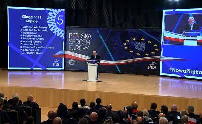 Kaczyński: stawką wyborów europejskich jest przyszłość naszego narodu