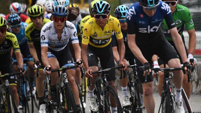 Kwiatkowski trzeci w wyścigu Paryż-Nicea. Wygrał Bernal