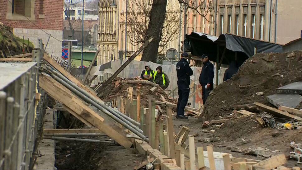 Zawalenie muru i osunięcie ziemi na Wawelu. Zginęła jedna osoba