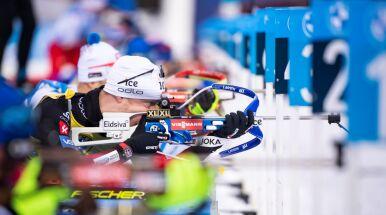 Johannes Boe rozpoczął bieg po trzeci tytuł z rzędu. Polacy wciąż daleko
