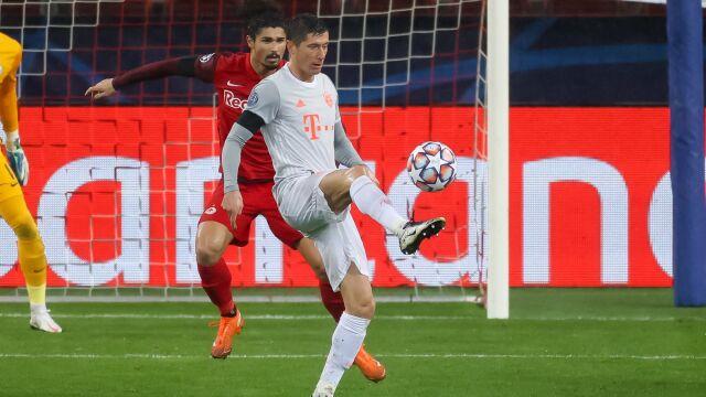 Lewandowski poluje na awans i podium Ligi Mistrzów