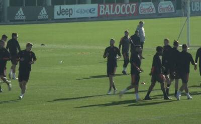 Trening Juventusu przed starciem z Ferencvarosem