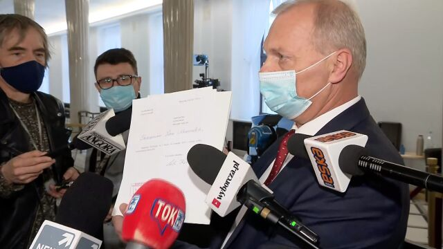 Lech Kołakowski nie jest już posłem PiS