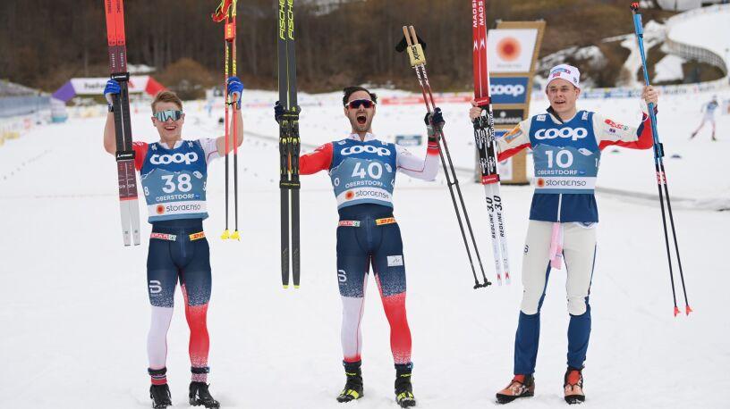 Podzielili medale między siebie. Norweska dominacja w biegu mistrzostw świata