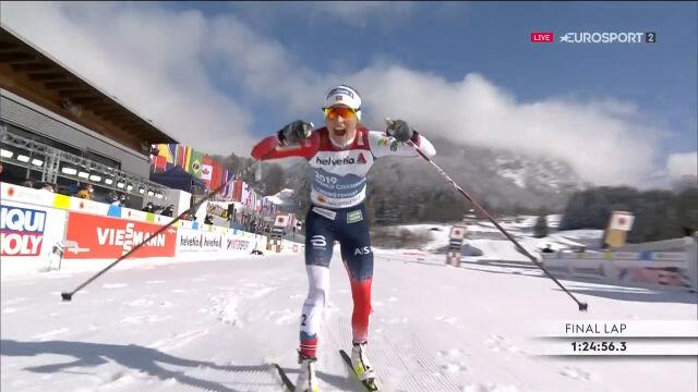 Johaug wygrała bieg na 30 km techniką klasyczną w mistrzostwach świata