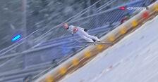 Skok Kubackiego z 1. serii konkursu na skoczni dużej w MŚ