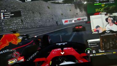 Kierowca F1 był w swoim świecie, partnerka czekała za drzwiami