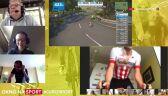 Meldunek Baranowskiego z trasy 3. etapu ORLEN eTour de Pologne Amatorów