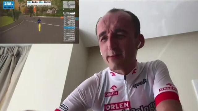 """Kubica najszybszy, ale krytyczny. """"Nie znałem trasy, pedałowałem bez sensu"""""""