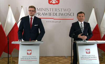 Zbigniew Ziobro o karze bezwględnego dożywocia