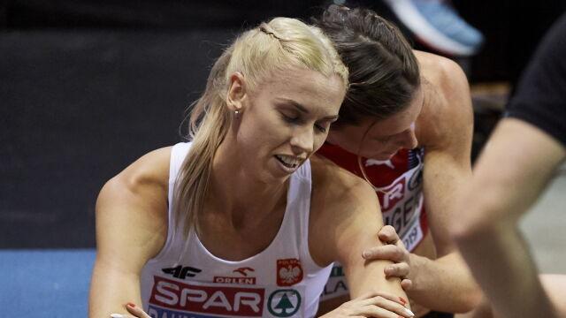 Miała walczyć o medal, szybko odpadła. Baumgart-Witan nie pobiegnie w finale