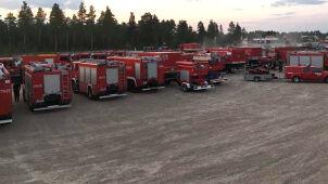 Polscy strażacy w Szwecji wyjechali do pożarów