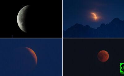 Zaćmienie księżyca na zdjęciach Reporterów 24