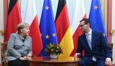 Angela Merkel w Warszawie. Spotkała się z Mateuszem Morawieckim