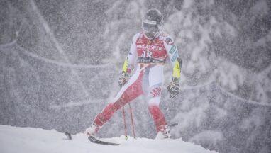 Gęsty opad śniegu w Santa Caterina. Slalom gigant mężczyzn przełożony