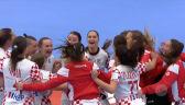 Skrót meczu Węgry - Chorwacja w pierwszej fazie grupowej ME w piłce ręcznej kobiet
