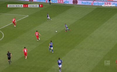 Skrót meczu Union Berlin - Schalke w 30. kolejce Bundesligi