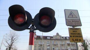 Jedna osoba nie żyje, jedna ranna. Kolejowe wypadki w Katowicach