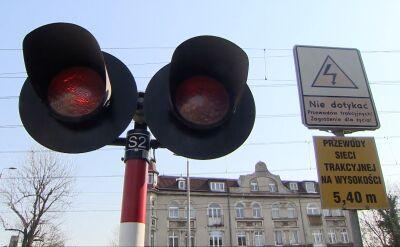 OSP publikuje nagranie zderzenia karetki z pociągiem w Puszczykowie