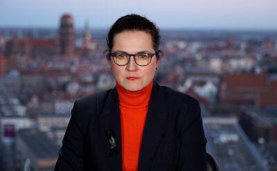 """Aleksandra Dulkiewicz, Tomasz Nałęcz, Paweł Śpiewak i Wojciech Hermeliński w """"Faktach po Faktach"""""""