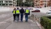 Hiszpańska policja pokazała nagranie z zatrzymania Falenty