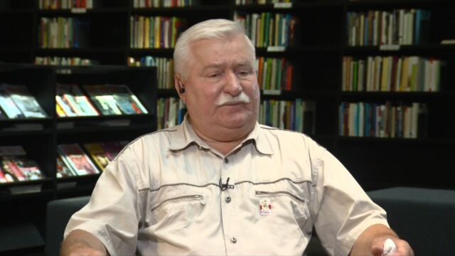 Wałęsa o uchodźcach: przyjąłbym ich do domu, ale muszę to uzgodnić z żoną