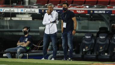 Trener Barcelony zagrożony.