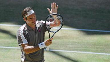 Rozgrzewka przed Wimbledonem. Federer triumfuje