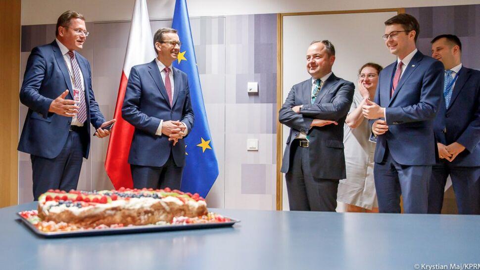 Merkel, Babisz, Grybauskaite, Tsipras, Mosbacher. Urodzinowe życzenia dla Morawieckiego