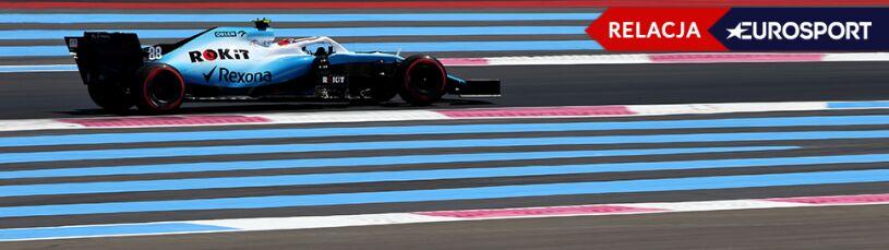 Grand Prix Francji - treningi. Słaby Williams, Kubica na końcu (RELACJA)