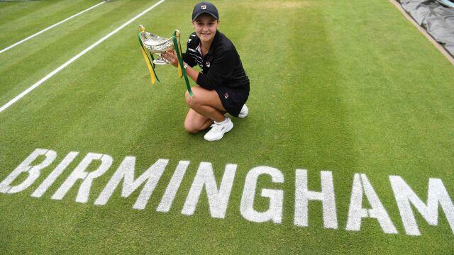 Ashleigh Barty triumfuje w Birmingham. Będzie liderką światowego rankingu