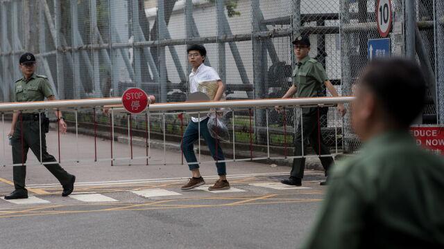 Lider studenckich protestów zwolniony z więzienia