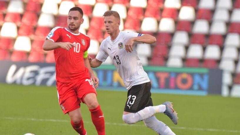 Bezradny Jović, blada Serbia. Wygrana Austrii w Euro U-21