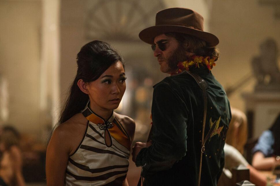 Hong Chau i Joaquin Phoenix