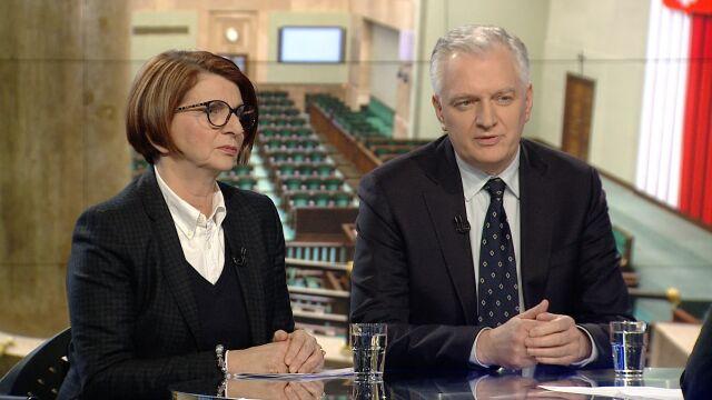 """Julia Pitera i Jarosław Gowin byli gośćmi """"Faktów po Faktach"""""""