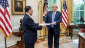 Trump spotkał się z Kim Jong Czolem