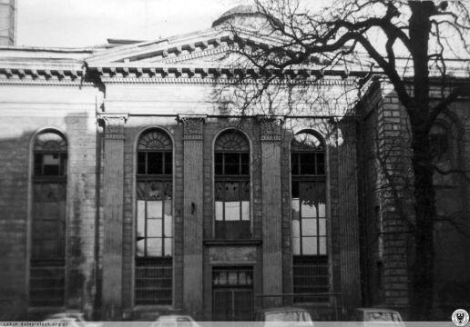 Synagoga - elewacja frontowa