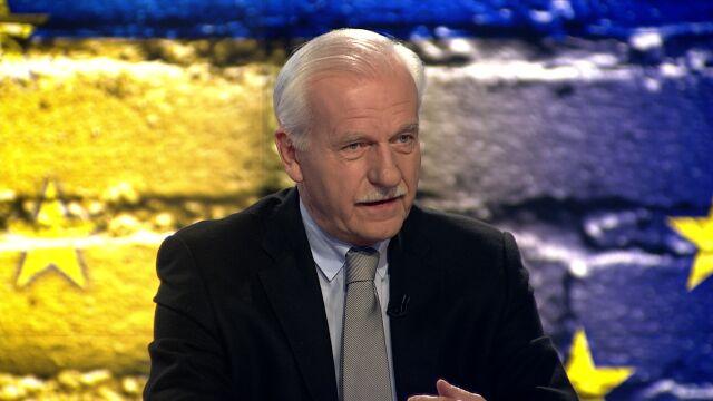 Olechowski: Będę obserwował reakcje na wschodzie Ukrainy